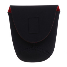 Neoprene DSLR Camera Lens Soft Protector Pouch Bag Case Set S New Black + Red (Intl)