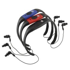 New 4.4GB Waterproof MP3 Music Player For Swimming SPA (Blue) (Intl)