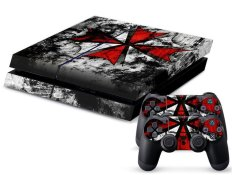 New Biohazard Sticker Cover Skin Decal For PS4 Console Controller Gift Decorate - Intl