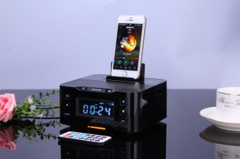 New Bluetooth Speaker, The Docking Charger Bluetooth Speaker For Iphone / Samsung. Black