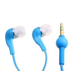New Phone 3.5mm In-Ear Headphones Earphones Earbud For MP3 MP4 MP5 Blue