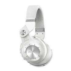 Newest Bluedio T2 Multifunction Stereo Bluetooth Headset Noise Canceling Headphone Wireless Headphones (White) (Intl)
