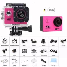 Newest gopro hero 4 style Action camera F60R Ultra HD 4K WiFi Underwater 30M Sports Camera 2.0