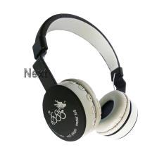 Next Headphone 288 FM TF.MP3 Bluetooth Stereo EDR Bisa Dilipat dengan Mic untuk Smartphone & Tablet