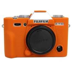 Nice Camera Video Bag For Fujifilm XT10 X-T10 XT20 X-T20 Silicone Case Rubber Camera case Protective Body Cover Skin - intl