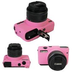 Nice Soft Camera Bag Silicone Case Rubber Camera Protective Body Cover Case Skin For Canon EOS M10 EOSM10 EOSM 10 Camera Bag - Intl