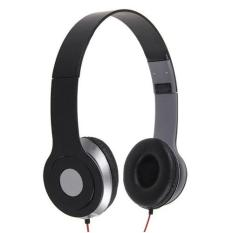 Nike NK - 300 For Handphone, Laptop, , MP3, MP4, PC & Tablet 3.5mm Stereo Earphone Headset Black (Black)