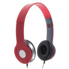 Nike NK - 300 For Handphone / Laptop / MP3 / MP4 / PC & Tablet 3.5mm Stereo Earphone Headset Red (Red)