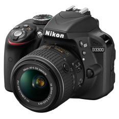 Nikon - Camera D3300 18-55 Vrii - Hitam