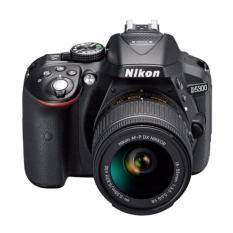 NIKON D5300 + AF-P DX NIKKOR 18-55mm f/3.5-5.6G VR Kit - 24.2MP - (BLACK) - Resmi Nikon
