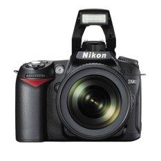Nikon D90 Kit 18-105 VR - 12.3 MP - Hitam