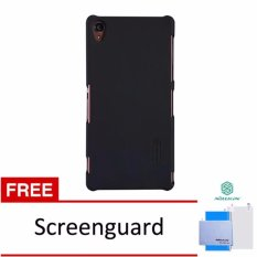 Nillkin Frosted case Sony Xperia Z3 (L55) - Hitam + free screen protector