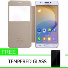 Emas Gratis Anti Gores Source Nillkin LG L60 X145 Super Frosted Shield Hard Case Original Putih