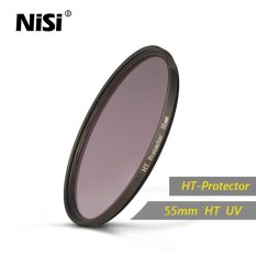 Nisi 55mm HT Protector UV Filter High Transmittance Optical Glass Ultra Thin Frame UV Filters