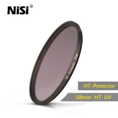 Nisi 58mm HT Protector UV Filter High Transmittance Optical Glass Ultra Thin Frame UV Filters