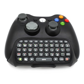 OH Not Specified Wireless Controller Messenger Game Keyboard Keypad ChatPad For XBOX 360 Black