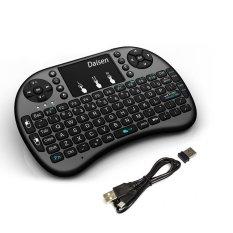 Omikai I8 Black 2.4G Portable Mini Wireless Remote Keyboard Mouse