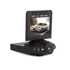 On Dash Video Camera 2.5 inch LCD with 6 LED Lights Vehicle VideoCamera Recorder Car Driving Video Recorder with IR. USB ChargingSlot - intl