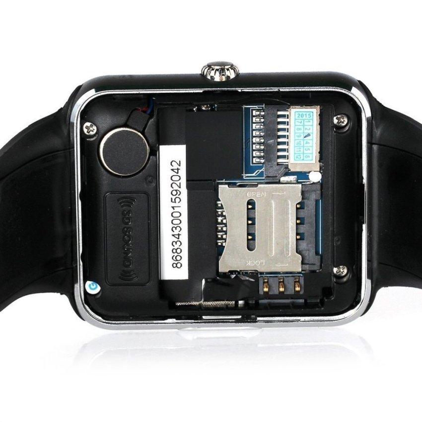 Onix Cognos Jam Tangan Pria - Strap Rubber - Smartwatch GT08 -Hitam