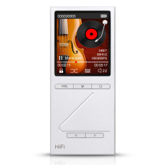ONN X5 Professional HIFI Music Player High-fidelity Audio Player 24 Bit Loseless Muisc MP3 Media Player 8GB Storage Full Metal Silver - Intl