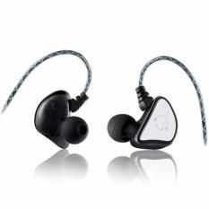 Original Sport Headphones Super Bass In-ear Earphone Headphones Stereo Headset With MIC Waterproof Sweatband For Smartphone (Black)