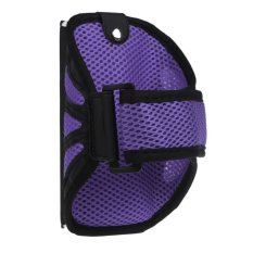 Outdoor Sports Running Cycling Mesh GYM Armband Case For Samsung HTC IPhone Purple