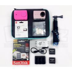 Paket Valentine Xiaomi Yi 2 4K Kingma 50cm Free Gift Box & Greeting Card Black