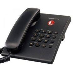 Panasonic Telephone Telepon KX-TS505H - Hitam