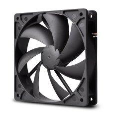PCCooler F-12.120mm Silent Computer Case Cooling Fan (Black)
