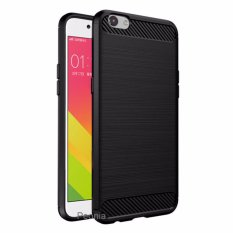 Peonia Premium Carbon Shockproof Hybrid Case for Oppo F1s / A59 - Hitam