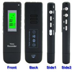 Perekam Suara Digital Meeting Voice Recorder 4GB - DVR-116 - Black