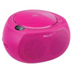 Philips AZ-100 C Radio CD Player - Pink