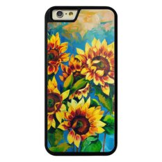 Phone case for iPhone 6/6s 10Original oil painting of sunflowers on canvas.Mode cover for Apple iPhone 6 / 6s - (Intl) - intl