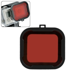 Polar Pro Aqua Cube Snap-on Dive Housing Glass Filter For GoPro 4/3 + - MK02 - Black / Red