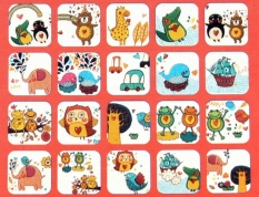 Polaroid Films Photo Stickers For FujiFilm Instax Mini Instant 8 7.25 50S A25 (Intl)