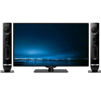"POLYTRON 39"" CINEMAX WAVE LED TV + Speaker 40T856 - khusus Jabodetabek"