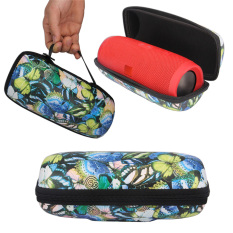 Portable Travel Carry Handle Hard Case Bag Holder Zipper Pouch For JBL Charge 3 Speaker In Butterfly