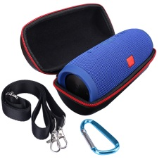 Portable Travel Carry Storage Hard Case Bag Holder Zipper Pouch For JBL Charge 3 Speaker In Black