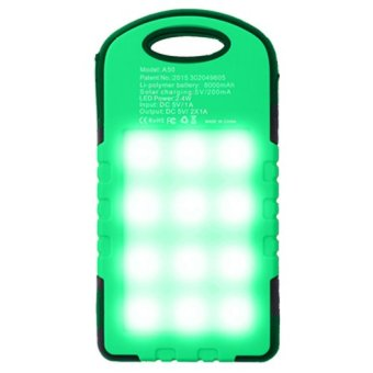 PowerBank Solar Cell Tenaga Surya Panel Emergency LED Lamp 99000