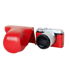 Protective PU Leather Camera Case Bag Cover For Fujifilm XM1 XA1 XA2 (Camera Not Included) Red