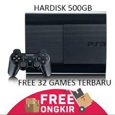 Ps3 / Playstation3 Super Slim 500gb, Full Games Cocok Buat Rental