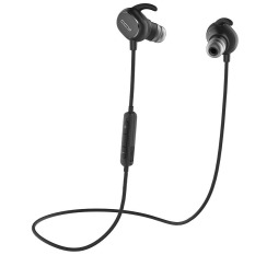 QCY QY19 Bluetooth Headset Wireless With Noise Canceling For IPhone Xiaomi PC Smartphones (Black)