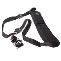 Quick Rapid Shoulder Neck Strap Belt Sling Sponge Pad For Camera SLR DSLR - intl