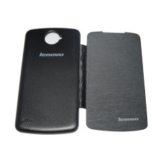 Rainbow Flipcover For Lenovo S920 Leather Case -Hitam