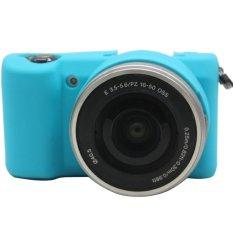 Rajawali Silicone Case For Sony Alpha A5000 / A5100 - Blue