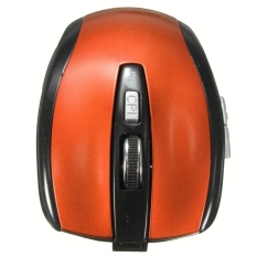 Rechargeable 3.0 Bluetooth Wireless Optical Mouse 1200DPI For Laptop Macbook PC Orange