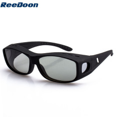 Reedoon 9755 Circularly Polarized 3D Non-Flash Glasses For TCL / LG 3D TV (Black)