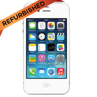 Refurbished Apple Iphone 4s 32GB - Putih - Grade A