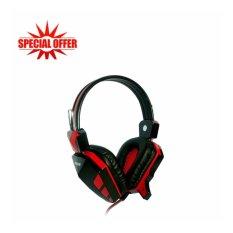 Rexus Headphone Pro Gaming F22 - Merah