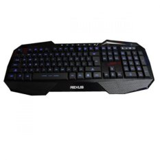 Rexus K1 Backlit Multimedia Keyboard Gaming - Hitam